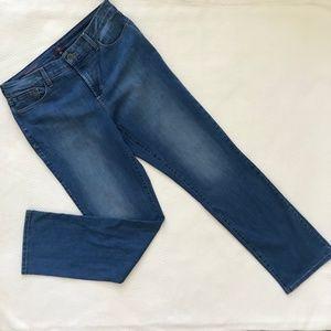 NYDJ Jeans - NYDJ Marilyn Jeans in Rayon Indigo
